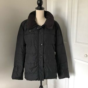 OLD NAVY BLACK LADIES PUFF JACKET